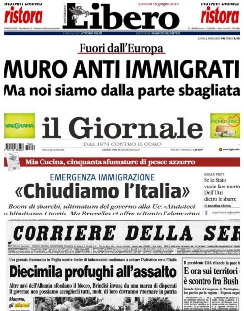 L immigrazione immaginaria 3 for Numero dei parlamentari italiani